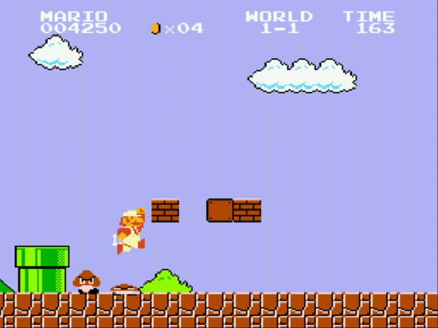 Super Mario Bros - Genesis - goomba f*** you - User Screenshot